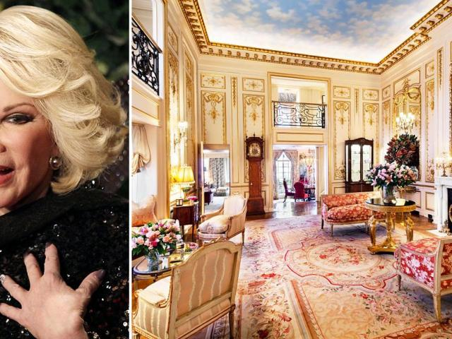 Joan Rivers' Haunted New York Penthouse Where She Once Hired a Voodoo Priestess To Remove a Ghost Hits The Market For $38 Million