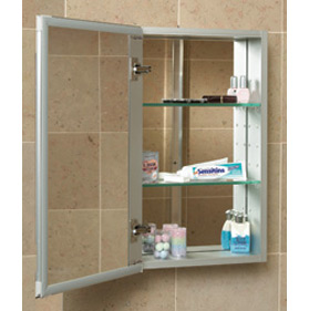 1524-4-SF-F-O-L-O & Medicine Cabinets | Shower Door King | Shower Door Installations