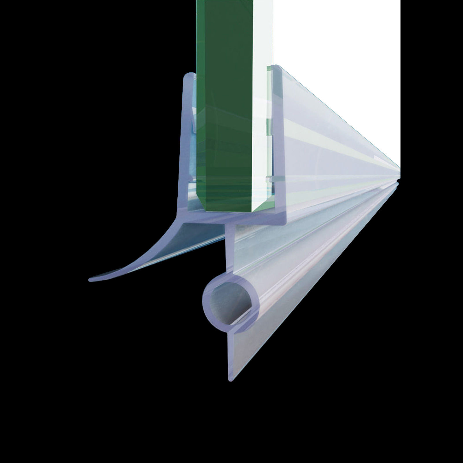Details About Sunny Shower Door Seal Strip For 3 8 Inch Glass Shower Door Bottom Seal 36 In L