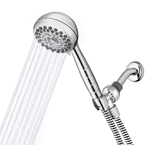 Peerless  76651SN with Water-Saving Six Spray Massage Shower Head Satin Nickel