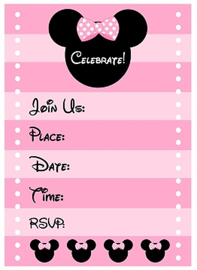 1st birthday invitations free printable templates