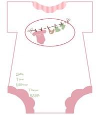 diaper baby shower invitations free template | Invitations ...