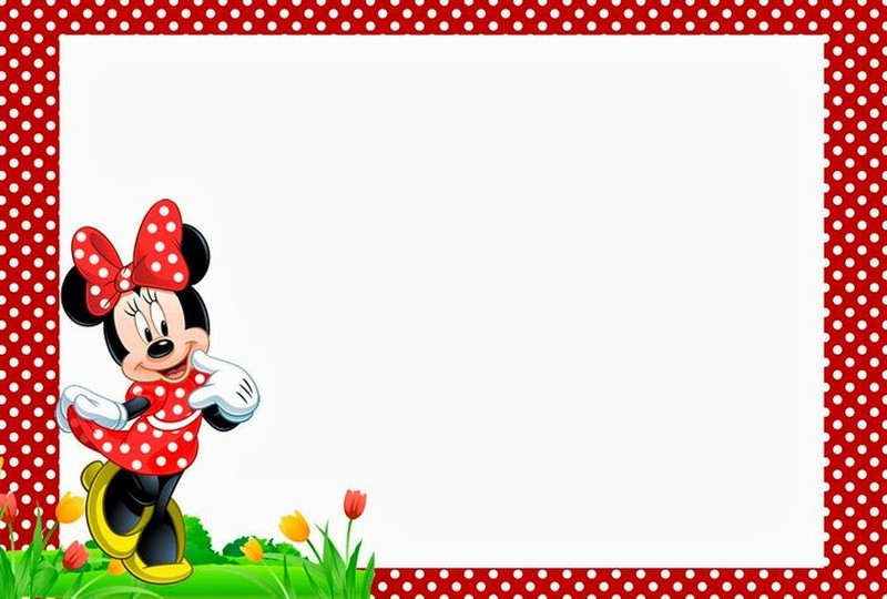 free minnie mouse birthday party