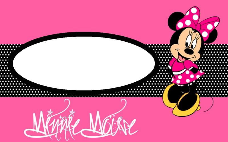 free minnie mouse invitation template