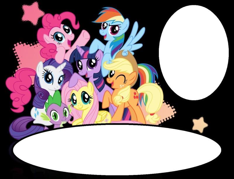 my little pony invitation invitations
