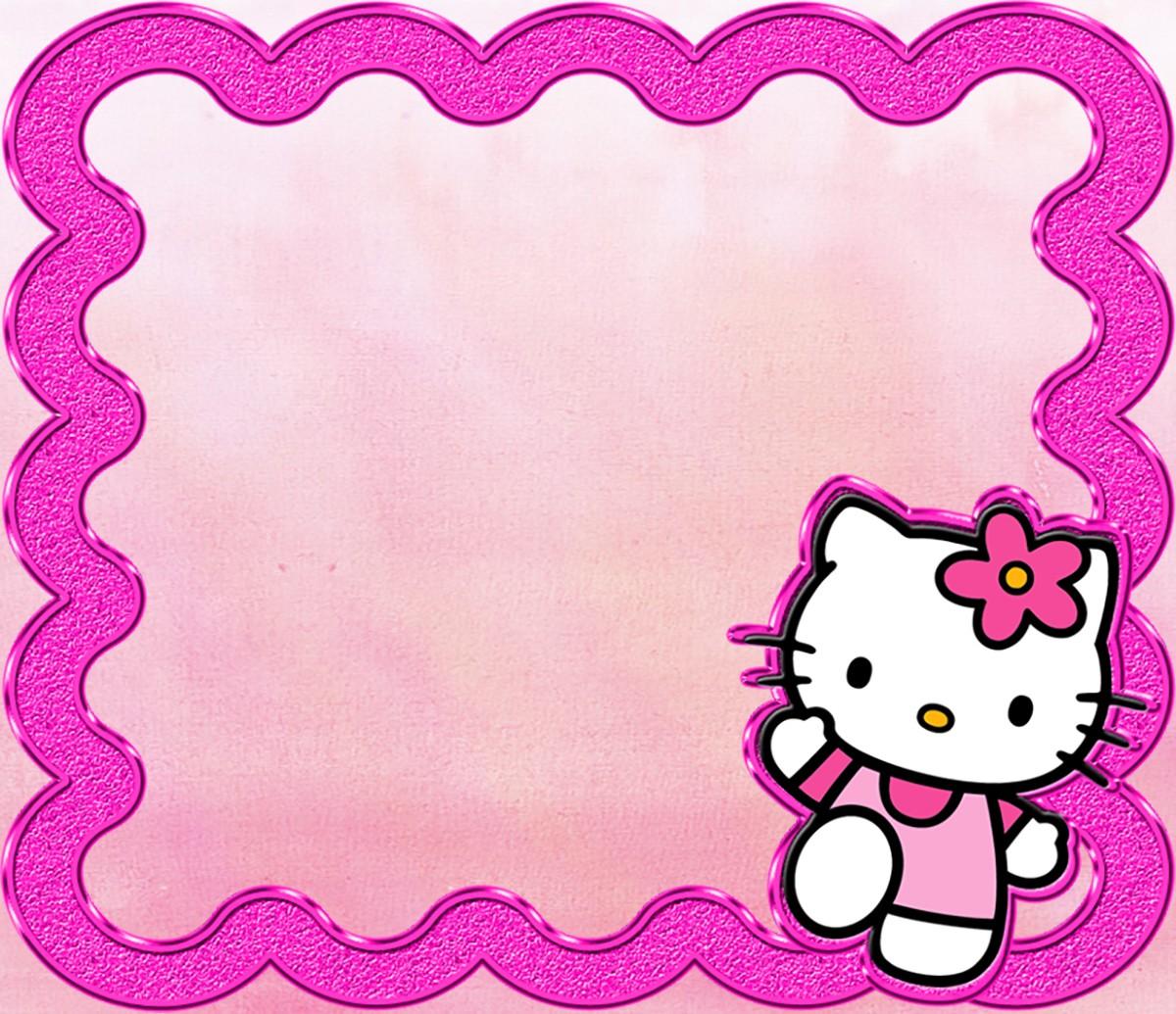 hello kitty free printable invitation
