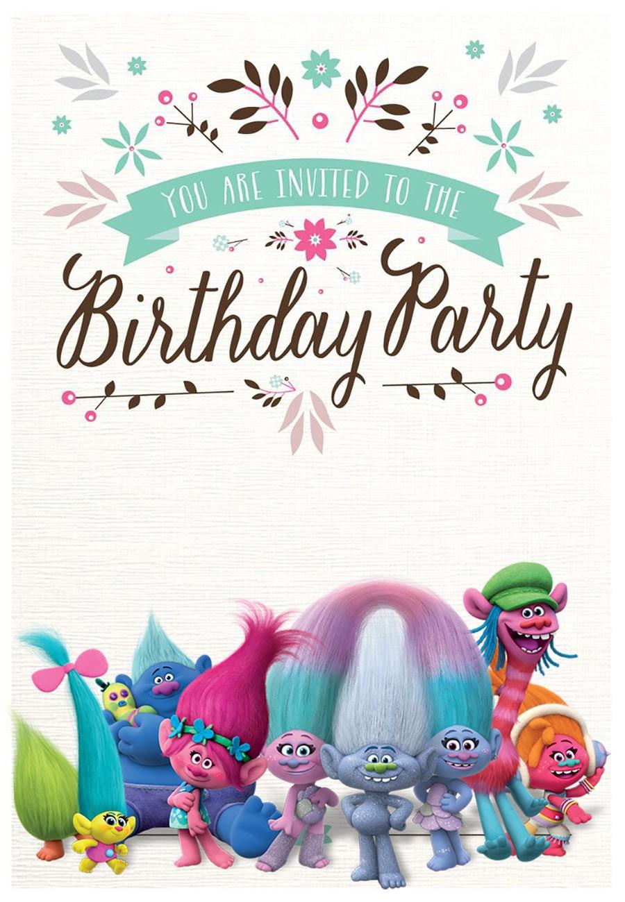 free birthday party templates