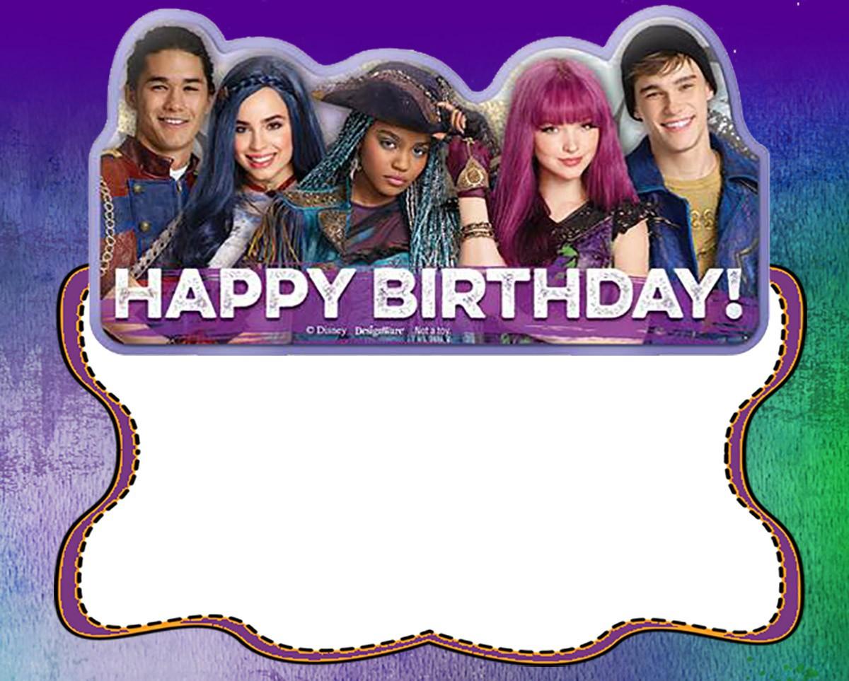 Happy Birthday Descendants