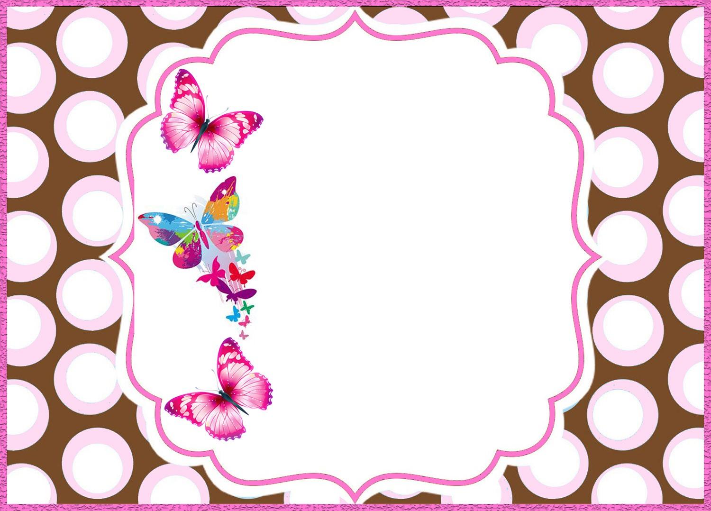 free online butterfly invitation