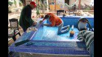 How to Build a Custom Tile Bathtub