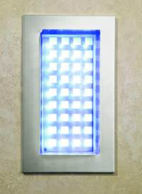 LED Shower Enclosure Light by HiB