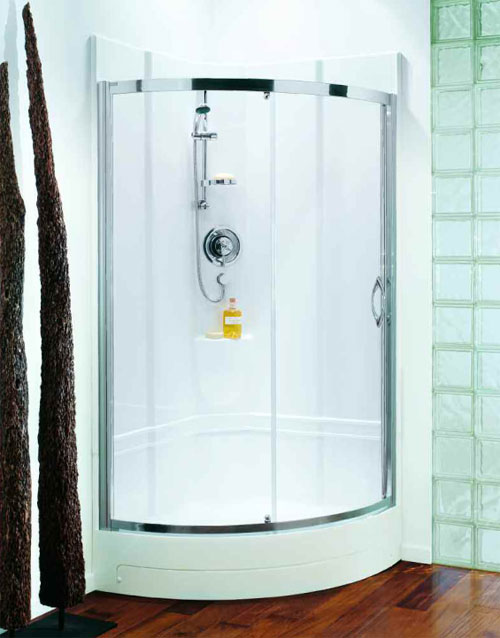 Coram 950 Quadrant One Piece Shower Pod Spacious Self