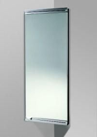 Dardo mirror door bathroom corner cabinet by HIB