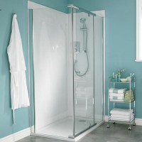 Mira Flight wall panels for showers