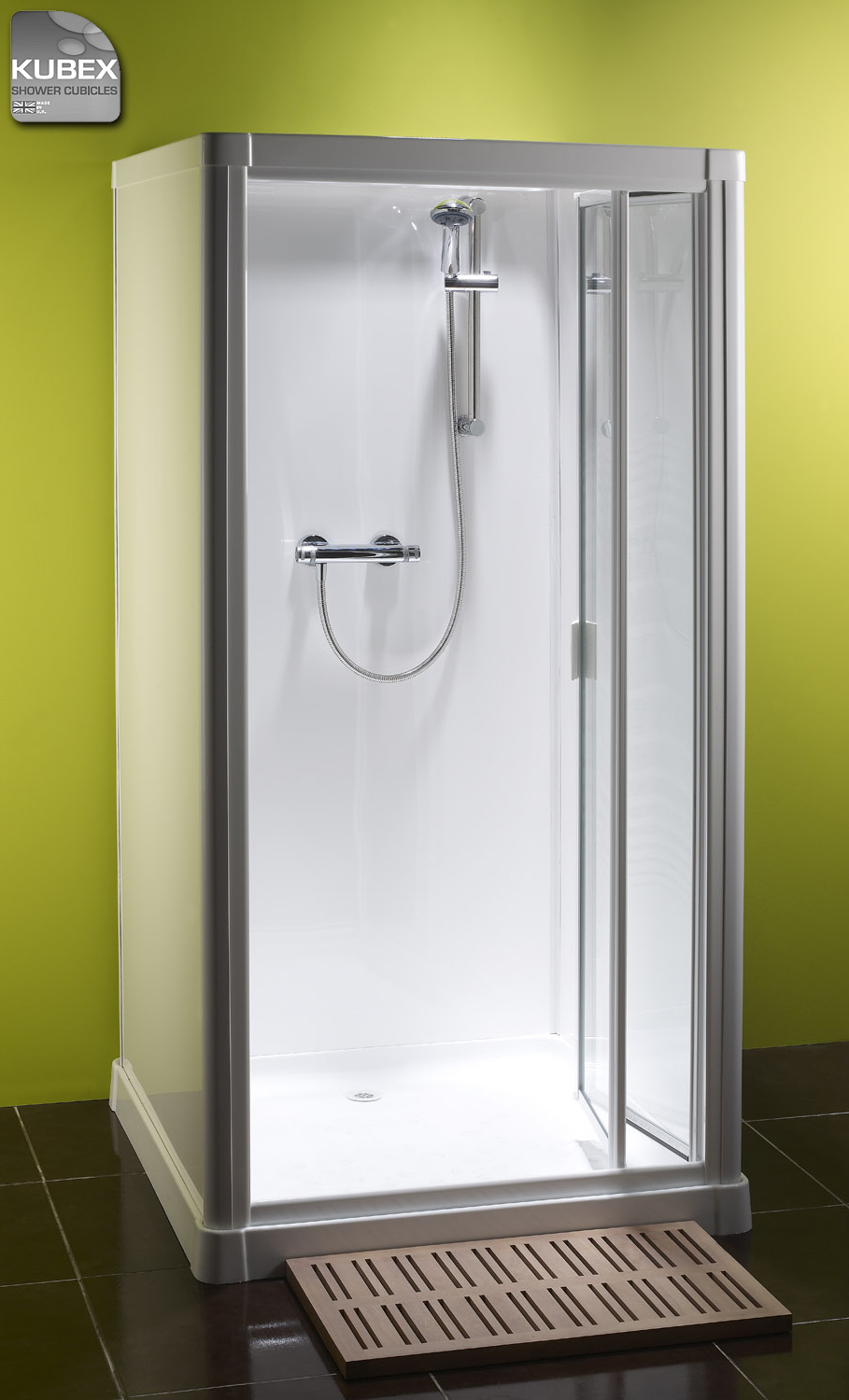 Profile 900 shower cubicle by Kubex Leak free self