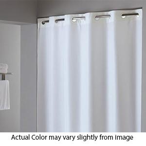 plainweave ada compliant extra long shower curtain