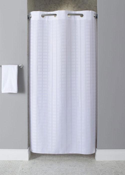 litchfield hookless stall shower curtain 42 x 74