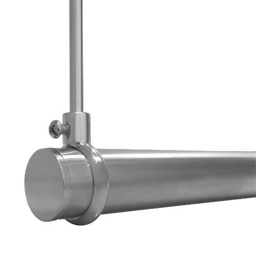 light duty suspended rod w double ceiling support