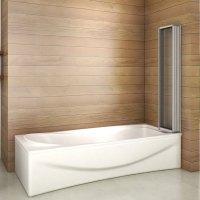 120x140 Badewannenfaltwand Badewannenaufsatz Duschwand ...
