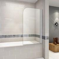 Badewanne Aufsatz 180 Duschwand Trennwand Duschabtrennung