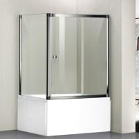 1700x1480mm Sliding Bath Shower Screen Door Side Panel ...