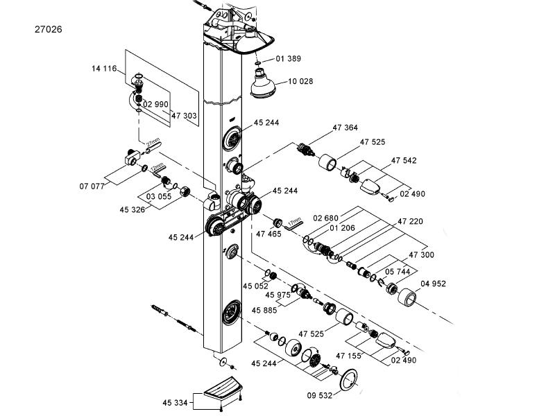 GROHE AQUATOWER 3000 PDF