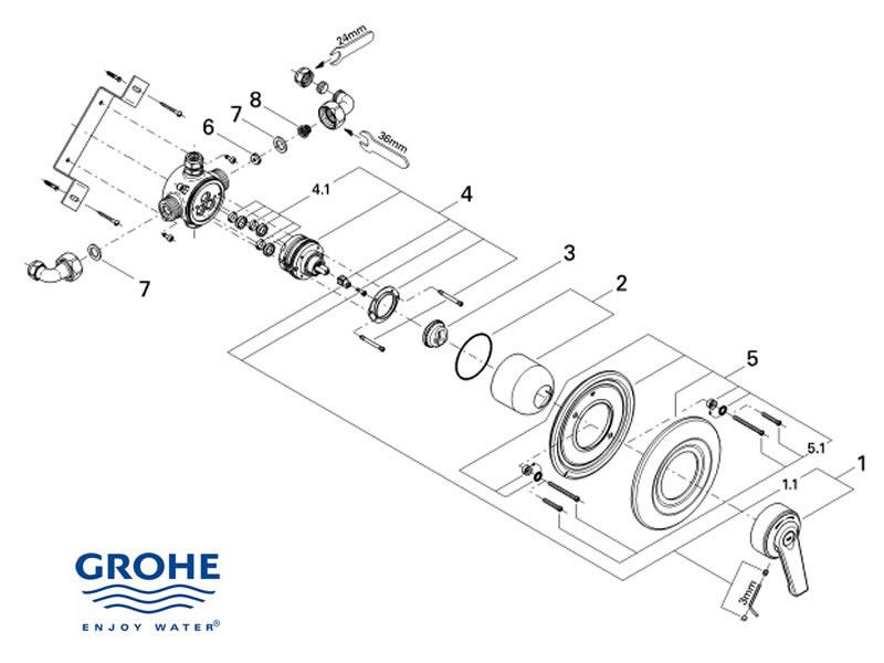 [MANUALS] Kitchen Faucet Parts Diagram Manual Guide [PDF