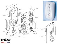 Shower spares for Mira Sport (1998-2005) 10.8kW | Mira ...