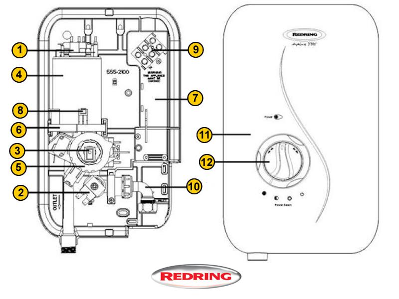 A Shower Diagram. Diagram. Auto Wiring Diagram
