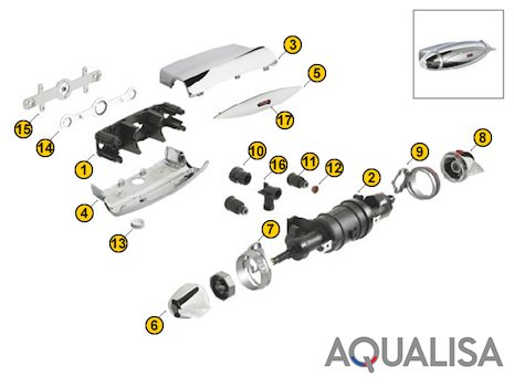 Aqualisa Midas 100 Bath Shower Mixer.Aqualisa Midas 100