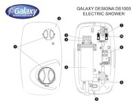 Galaxy Shower Spares | Galaxy Spare Parts | National ...