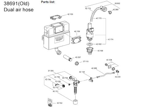 Grohe Concealed Cistern Spare Parts Motorsportwjd
