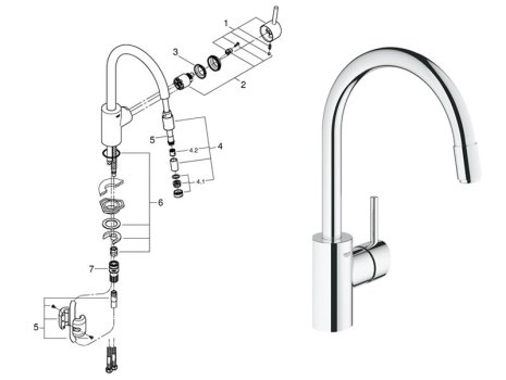 Englefield shower spare parts