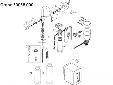 Grohe Kitchen Taps Spare Parts