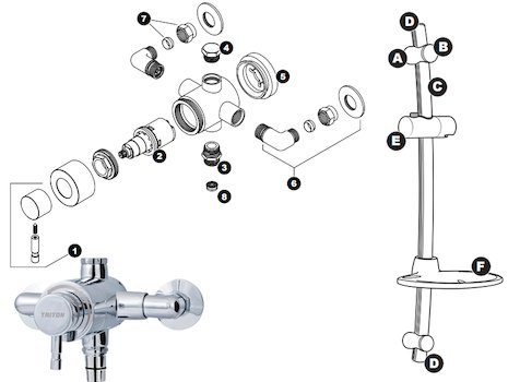 T100xr Electric Shower White Electric Burn Wiring Diagram
