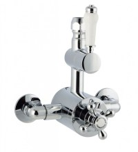 Cassellie Traditional Exposed Thermostatic Shower Valve ...