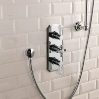 Cassellie Tudor Triple Concealed Shower Valve