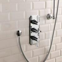 Cassellie Tudor Triple Concealed Shower Valve | TRAD003