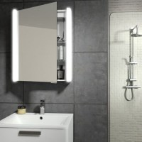 HIB Vita 50 Aluminium Led Bathroom Cabinet