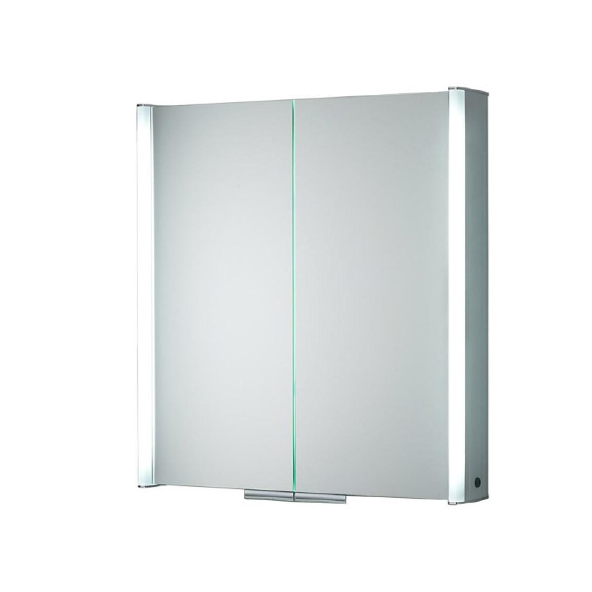 HIB Xenon 80 LED Aluminium Illuminated Bathroom Cabinet