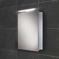 HiB Orbital aluminium Bathroom cabinet