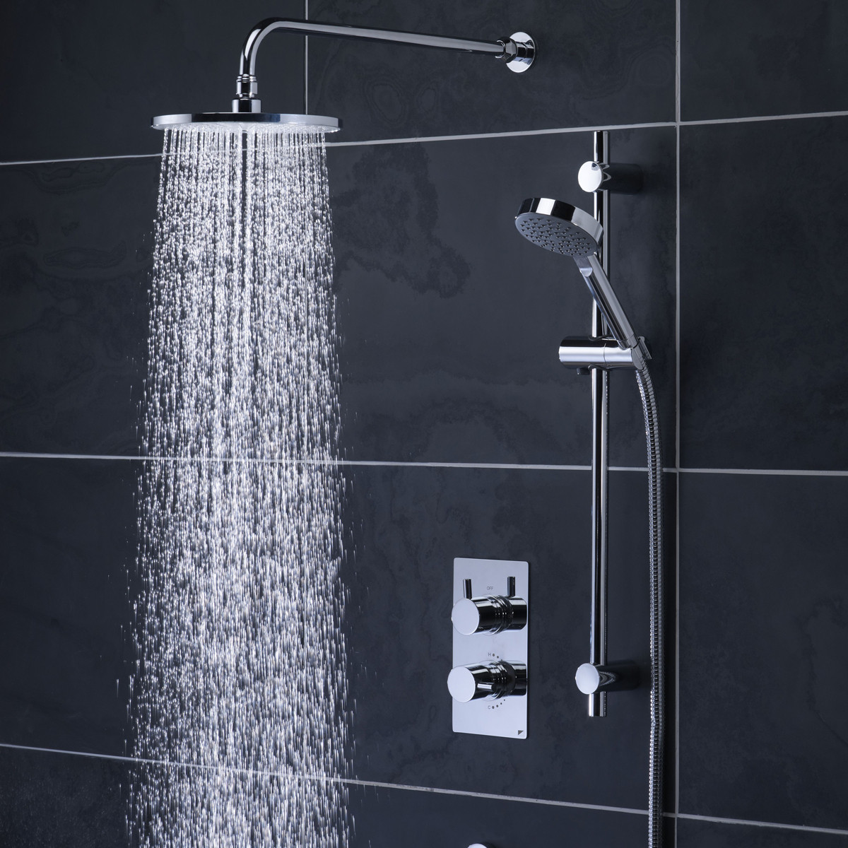 Roper Rhodes Event Concealed Two Way Diverter Shower