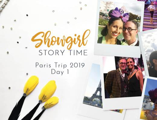 Showgirls Life   Showgirl Story Time starring Athena Patacsil Bluebells Forever Reunion Paris 2019 Day 1