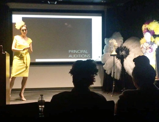 Showgirl's Life | Now booking for pre-keynote talks and special events