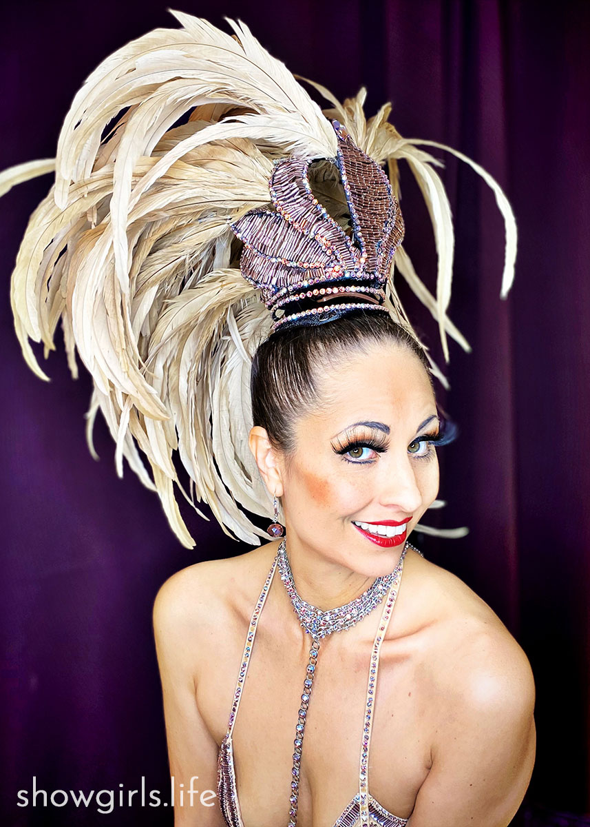 Showgirl's Life blog   Gazealous gallery Showgirl costume designed by Athena Patacsil