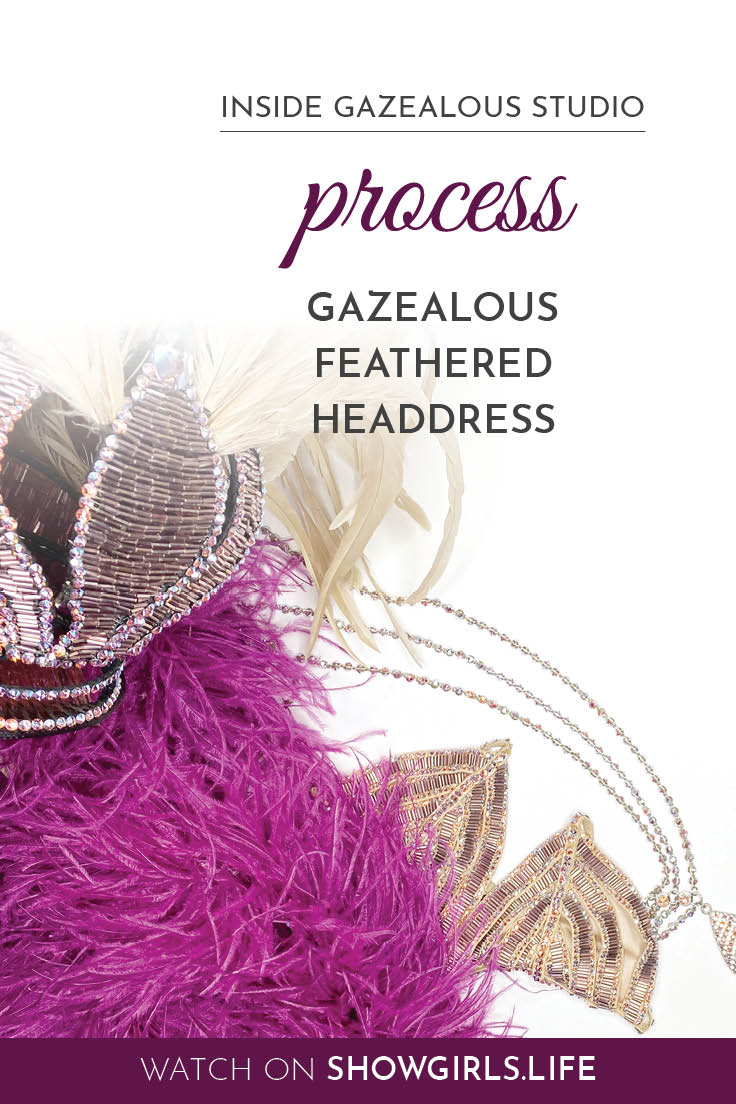 Showgirl's Life blog | Inside Gazealous Studio part 2, process