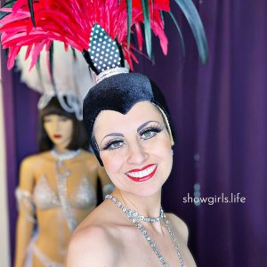 Showgirl's Life | Red Fountain costume designed by Athena Patacsil