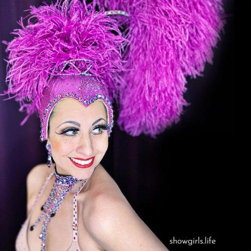 Showgirls Life | Bouffant Showgirl costume designed by Athena Patacsil