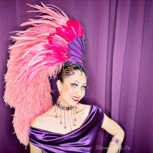 Showgirls Life | Volcano Showgirl costume designed by Athena Patacsil
