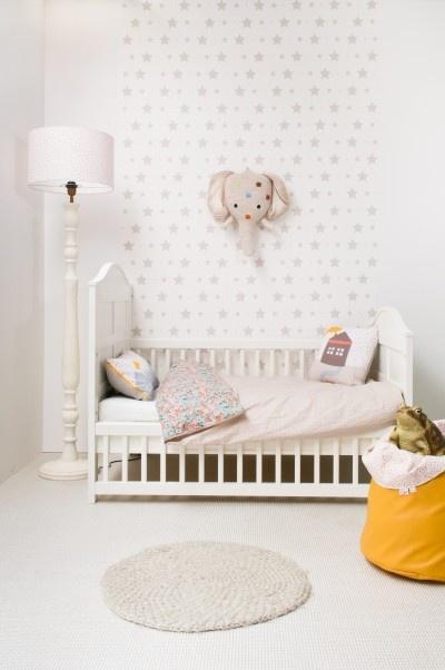 Babykamer Behang Olifant